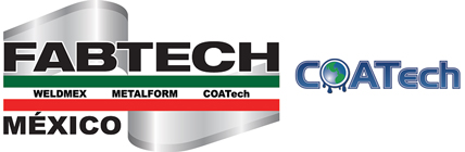 FABTECH Mexico heads to Mexico City May 4-6, 2016 with AWS Weldmex, METALFORM Mexico and COATech